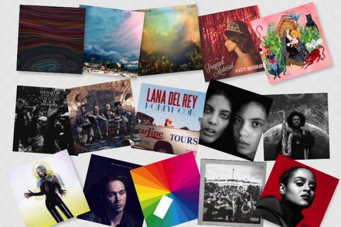 2015 års bästa album
