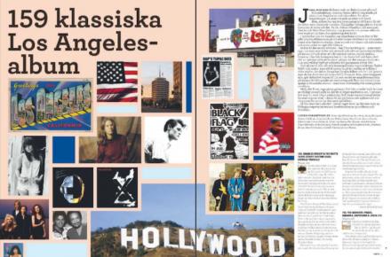 LA-listan, ljudspåret