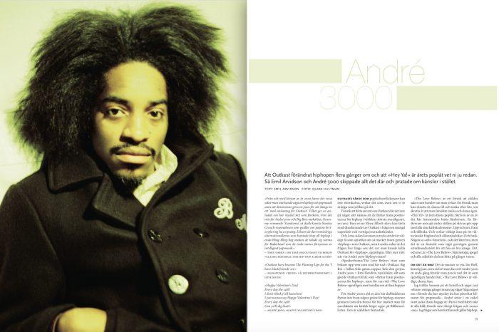André 3000: »Alla har the love below«
