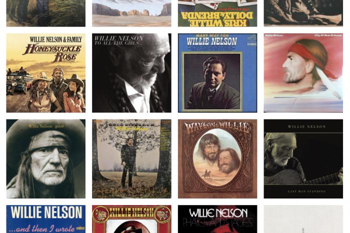 Willie - album för album