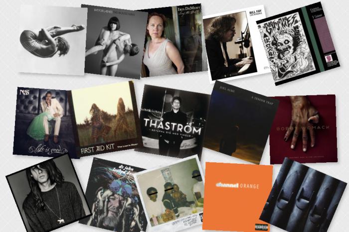 2012 års bästa album