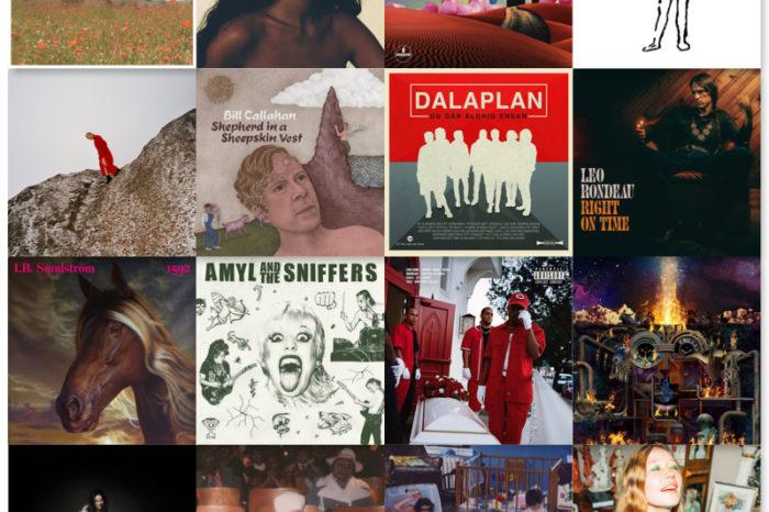 Bästa albumen, första halvåret 2019